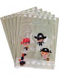 6 Buste regalo Pirata