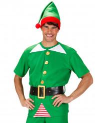 Costume elfo di natale adulto
