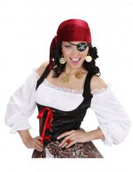 kit orecchini e collana Pirata Adulto