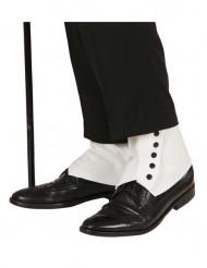 Copri scarpe bianche da adulto