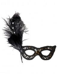 Maschera leopardata adulto