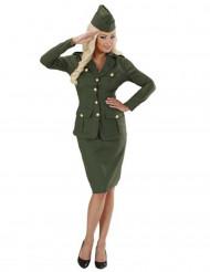 Costume da militare donna