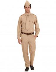 Costume soldato americano adulto