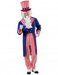 Costume da Zio Sam USA per adulto