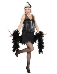 Costume charleston donna nero