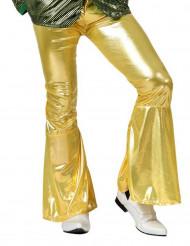 Pantalone disco oro uomo