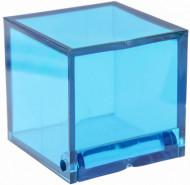 4 scatole cubuche turchese