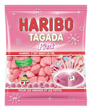 Sacchetto di caramelle Haribo Tagada Pink