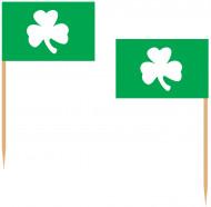 Stecchini verdi trifoglio Saint Patrick