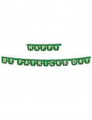 Ghirlanda verde happy St Patrick