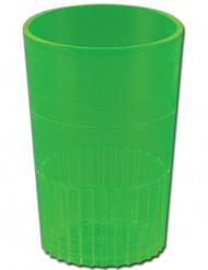 bicchieri in palstica verde Saint Patrick