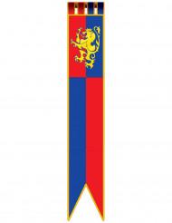 Decorazione medievale banner con leone
