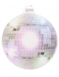 Decorazione da muro Disco argentato