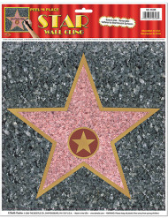 Decorazione da muro stella Walk of Fame