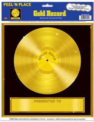 Decorazione da muro Disco d'oro
