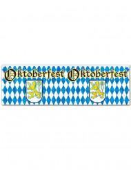 Banner blu e bianco Oktoberfest
