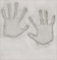 Decorazione per pareti impronte mani