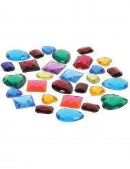 Sacchetto di false pietre preziose