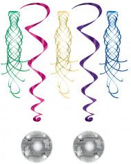 Decorazione da appendere spirale palla disco