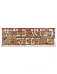Banner marrone Wild Wild West