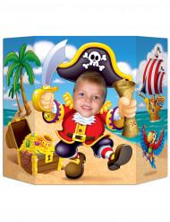 Decorazione in cartone Isola dei Pirati