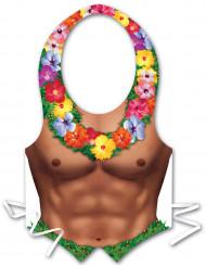 Grembiule di plastica uomo Hawai