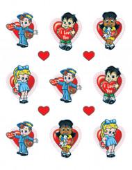 Adesivi bambini San Valentino