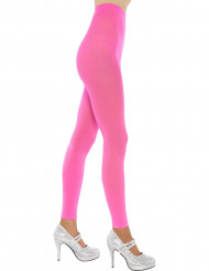 Leggings rosa fluo per adulto
