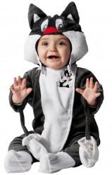 Costume gatto Silvestro™ Looney Tunes™ neonato