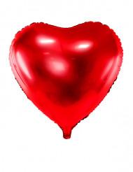 Palloncino alluminio cuore rosso