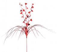 Decorazione a fiore rosso San Valentino