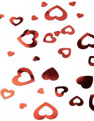 Coriandoli vuoti a cuori rossi San valentino