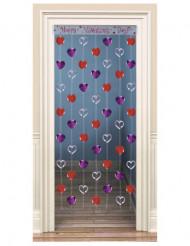 Decorazione da porta con cuori San Valentino
