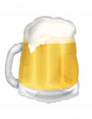 Pallone boccale di birra giallo San patrizio