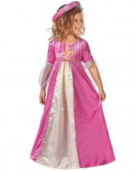 Costume principessa medievale bambina