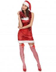Costume mamma Natale sexy seducente donna