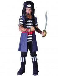 Costume pirata tatuato bambino
