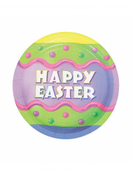 8 Piatti Happy Easter Pasqua da dessert
