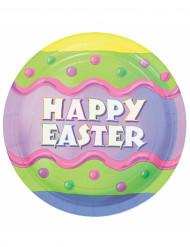 8 Piatti Happy Easter Pasqua