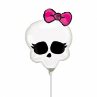 Palloncino teschio rosa Monster High™