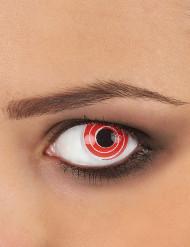 lenti a contatto spirale rossa