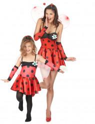 Costume coppia coccinelle madre e figlia