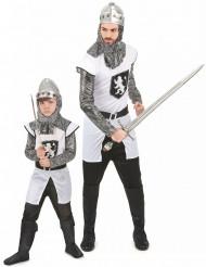 Costume di coppia da cavaliere per padre e figlio