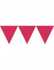 Ghirlanda bandierine di carta rosse