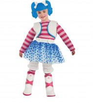 Costume da bambolina di pezza Lalaloopsy™ per bambina