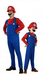 Costume coppia Mario padre e figlio