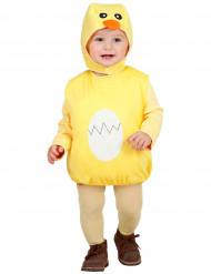 Costume pulcino bebe