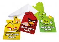 6 inviti di carta Angry Birds™