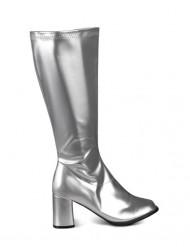 Stivali argento donna