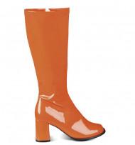 Stivali arancione brillante donna